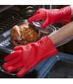Силиконова ръкавица за горещо с 5 пръста