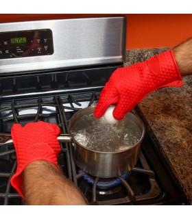 Силиконова ръкавица за горещо с 5 пръста - 3