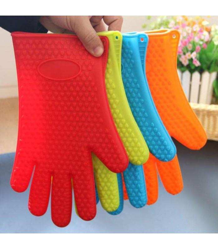 Силиконова ръкавица за горещо с 5 пръста - 6