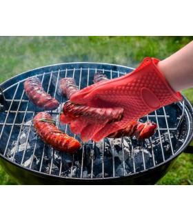 Силиконова ръкавица за горещо с 5 пръста - 5