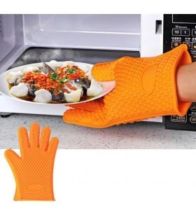 Силиконова ръкавица за горещо с 5 пръста - 7