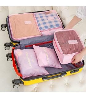 Комплект органайзери за пътуване 6 части - 1