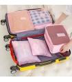 Комплект органайзери за пътуване 6 части