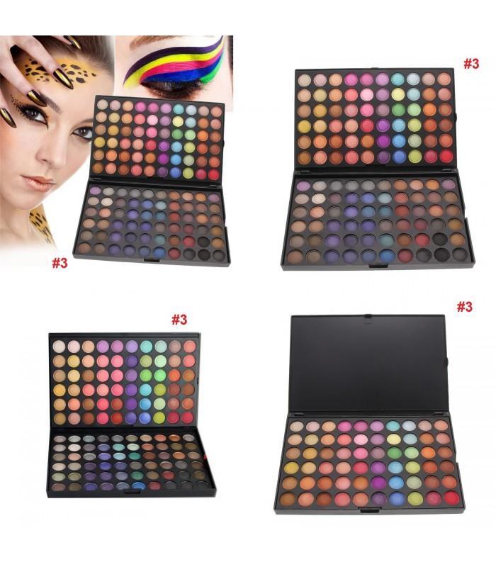 Палитра сенки за очи 120 цвята - 3
