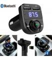 Bluetooth трансмитер за кола с Handsfree и 2бр. USB - HY-82