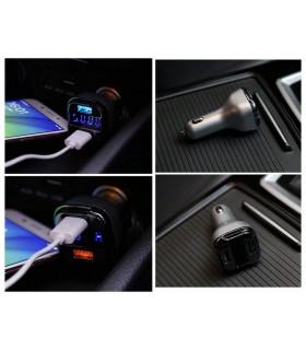 Волтметър за кола с 2бр. USB изхода за зареждане - 6