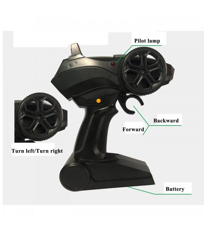 Детска количка-джип с дистанционно управление 4х4 - 6