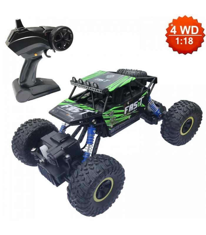 Детска количка-джип с дистанционно управление 4х4 - 3