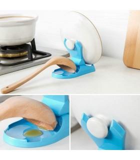 Кухненска поставка за капак и лъжица