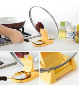 Кухненска поставка за капак и лъжица - 4
