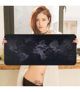 Голяма подложка за бюро/мишка Карта на света - 5