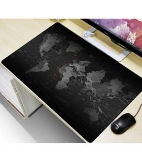 Голяма подложка за бюро/мишка Карта на света - 11