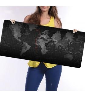 Голяма подложка за бюро/мишка Карта на света - 6