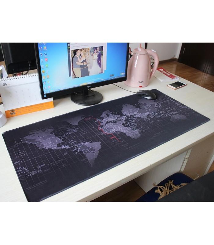 Голяма подложка за бюро/мишка Карта на света - 7