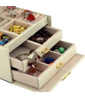 Кутия за бижута тип куфар - код 1756 - 7