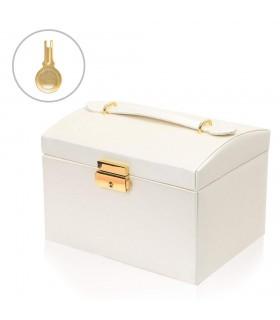 Кутия за бижута тип куфар - код 1756 - 14