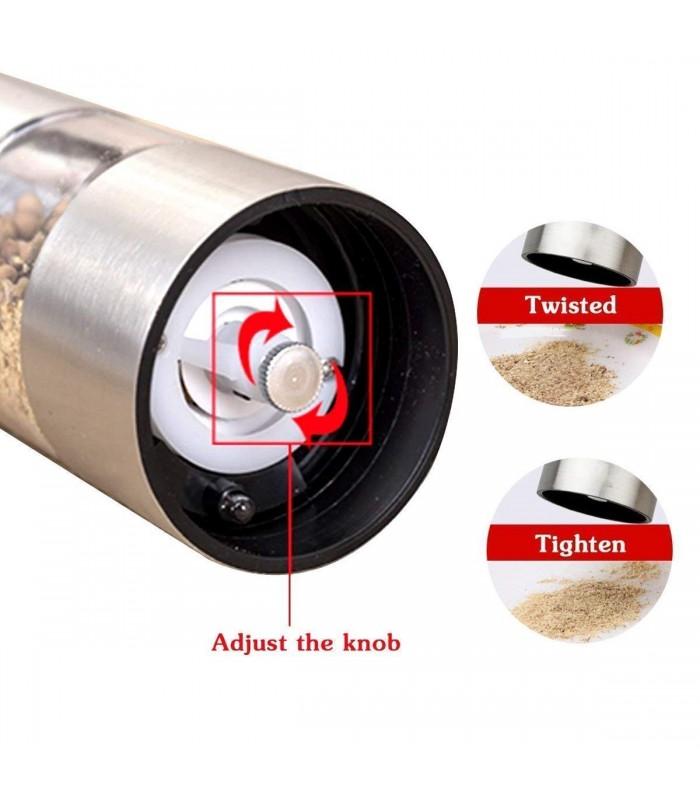 Електрическа мелничка за сол и пипер - 10