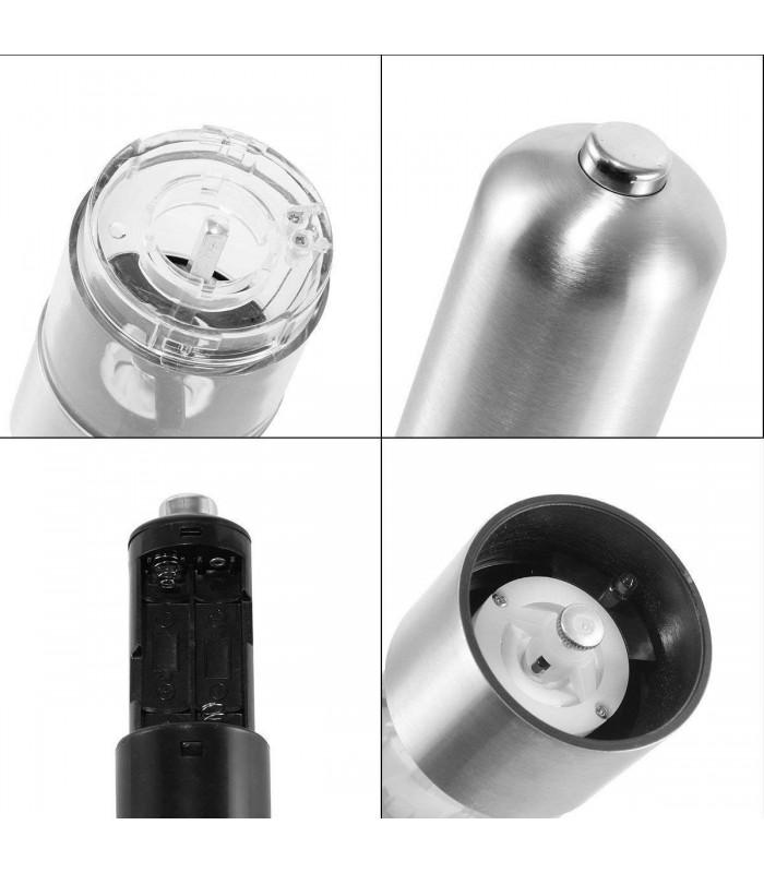 Електрическа мелничка за сол и пипер - 7