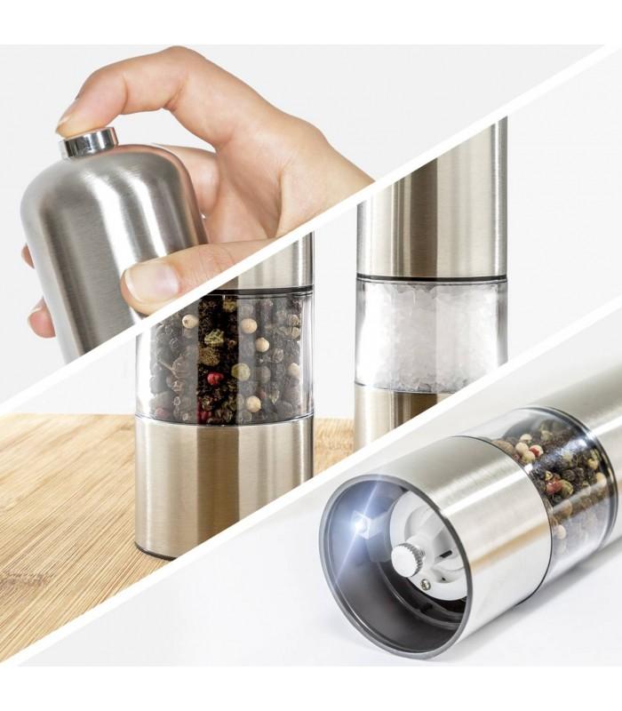 Електрическа мелничка за сол и пипер - 6