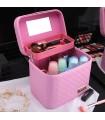 Козметичен куфар с дръжка с 1 ниво - модел 2164