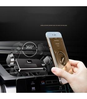 Стойка за вентилационната решетка на кола с автоматично заключване