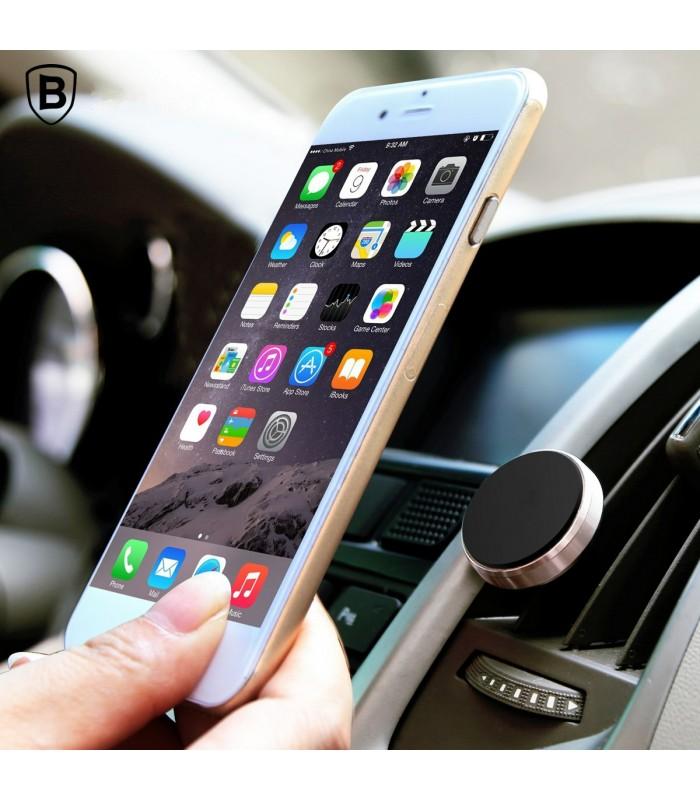 Магнитна стойка за телефон за решетка на парно за кола - 6