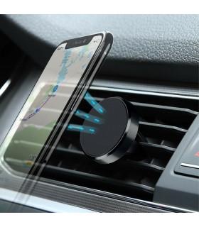 Магнитна стойка за телефон за решетка на парно за кола - 1