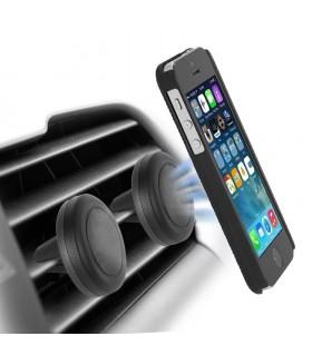 Магнитна стойка за телефон за решетка на парно за кола - 3