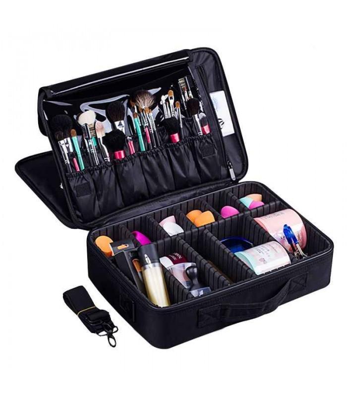 Професионален куфар-органайзер за козметика - 7