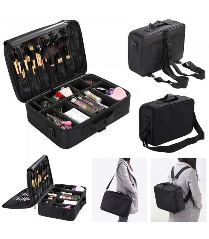 Професионален куфар-органайзер за козметика - 2