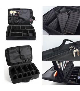 Професионален куфар-органайзер за козметика - 5