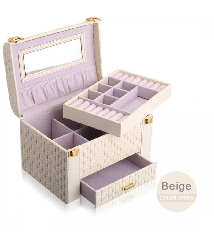 Куфар с дръжка за козметика - модел 1123 - 3