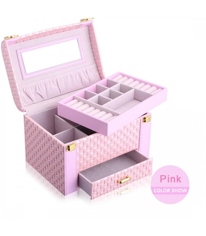 Куфар с дръжка за козметика - модел 1123 - 4