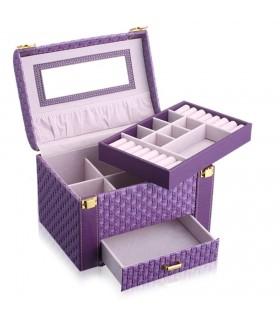 Куфар с дръжка за козметика - модел 1123 - 5