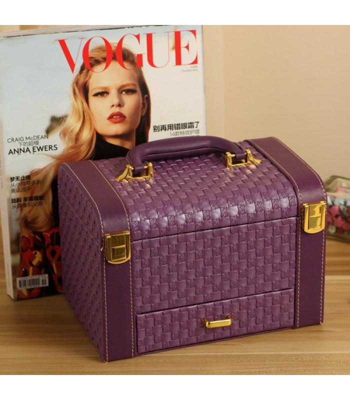 Куфар с дръжка за козметика - модел 1123 - 6
