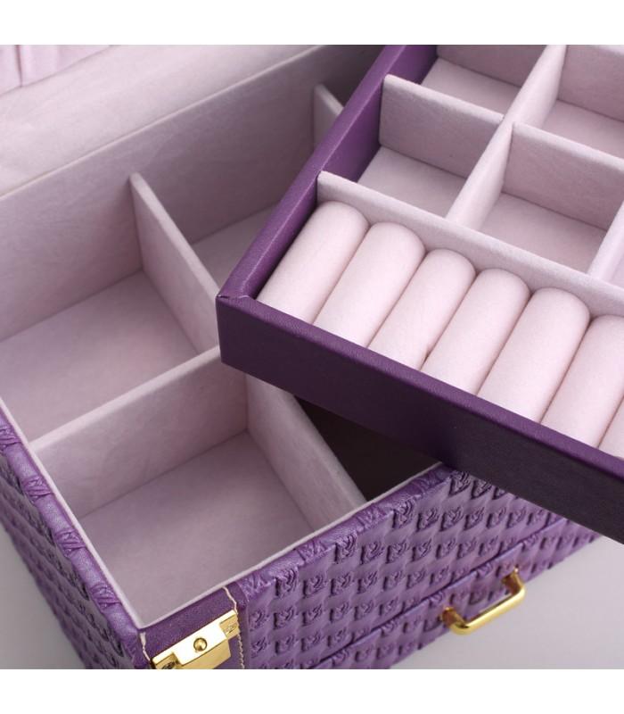 Куфар с дръжка за козметика - модел 1123 - 7
