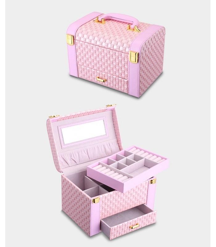 Куфар с дръжка за козметика - модел 1123 - 8