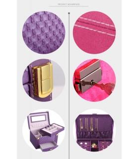 Куфар с дръжка за козметика - модел 1123 - 9