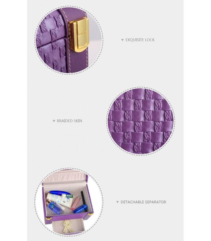 Куфар с дръжка за козметика - модел 1123 - 11
