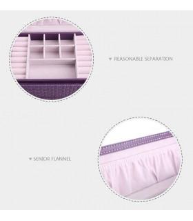 Куфар с дръжка за козметика - модел 1123 - 12