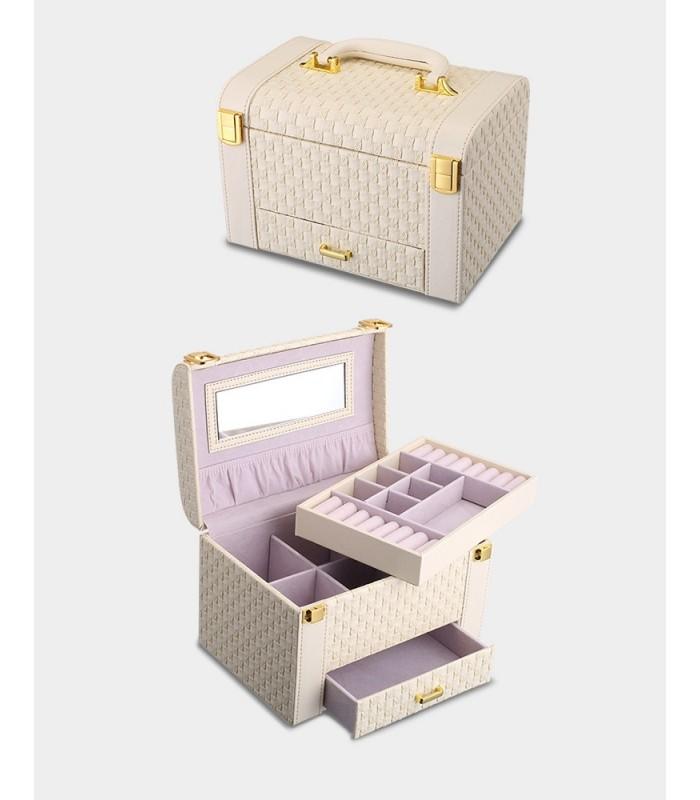 Куфар с дръжка за козметика - модел 1123 - 13