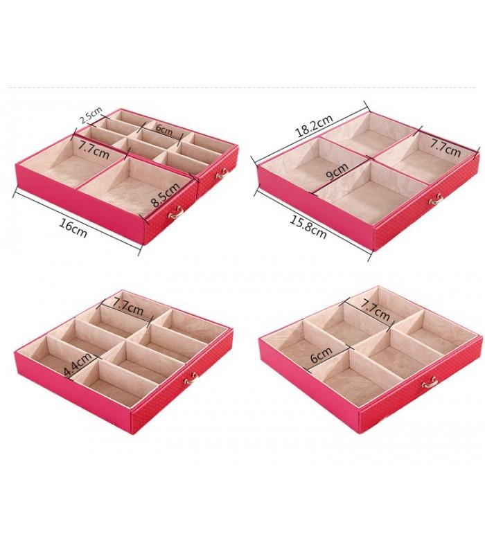 Куфарче за бижута с чекмеджета - модел 1119 - 9