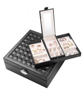 Луксозна кутия за бижута - код 1755 - 12
