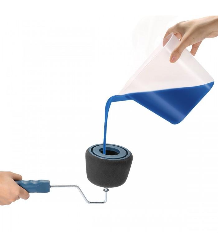 Голям + малъм валяк за боядисване с резервоар - 19