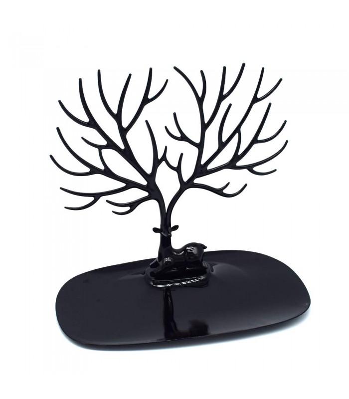 Стойка за бижута дърво с еленови рога - 5