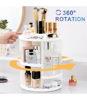 Органайзер за гримове и козметика - въртящ - 1