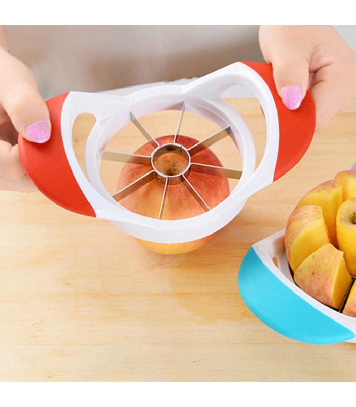 Нож за рязане на ябълки на еднакви резенчета - 7