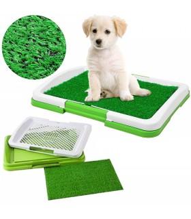 Кучешка тоалетна с изкуствена трева - 1