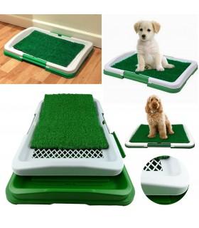 Кучешка тоалетна с изкуствена трева - 2