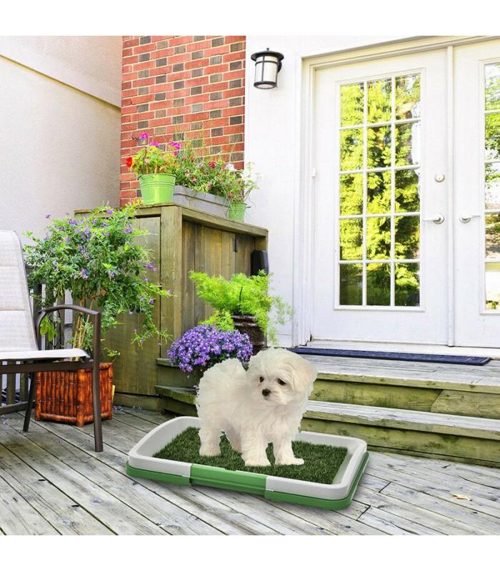 Кучешка тоалетна с изкуствена трева - 5